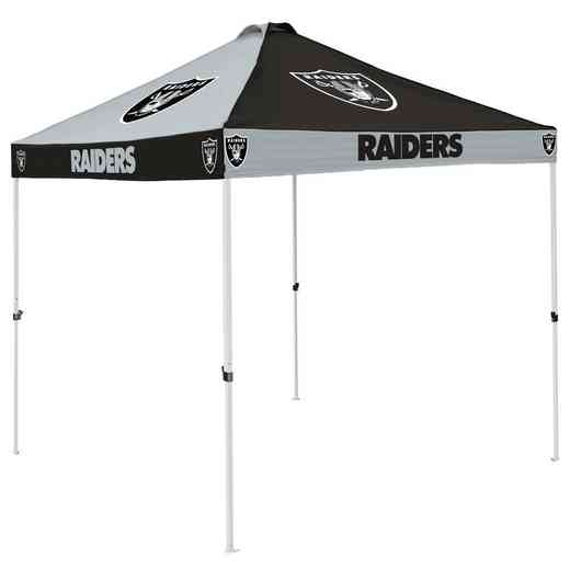 623-42C: Oakland Raiders Checkerboard Canopy