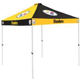 625-42C: Pittsburgh Steelers Checkerboard Canopy