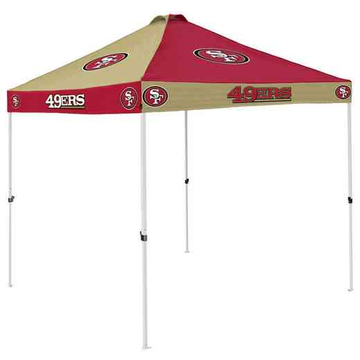 627-42C: San Francisco 49ers Checkerboard Canopy