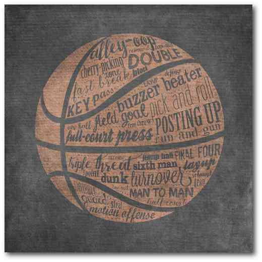 WEB-TS124-16x16: Basketball Terms, 16x16