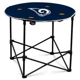 629-31-1: LA Rams Navy/White Round Table