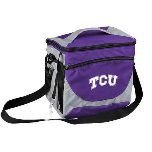 215-63: NCAA  TCU 24 Can Cooler