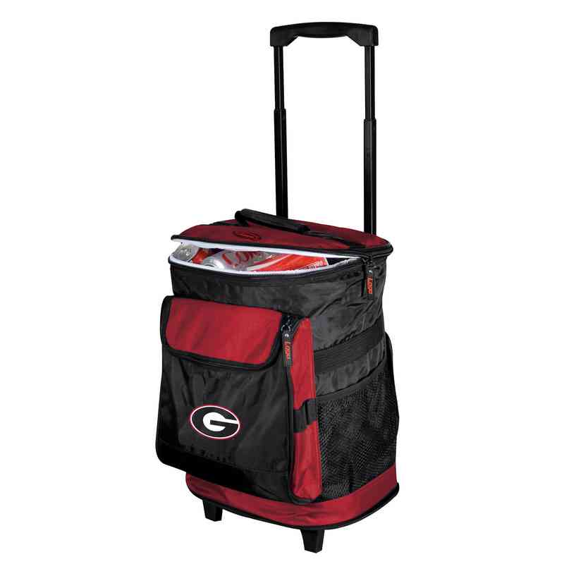 142-57: NCAA Georgia Rolling Cooler