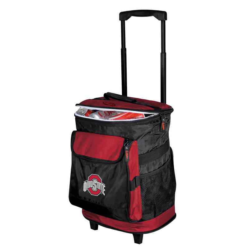 191-57: NCAA Ohio State Rolling Cooler