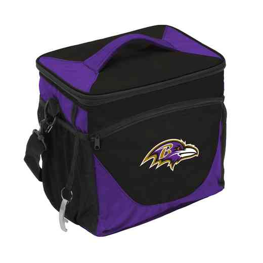 603-63: Baltimore Ravens 24 Can Cooler