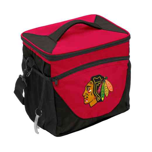 807-63: Chicago Blackhawks 24 Can Cooler
