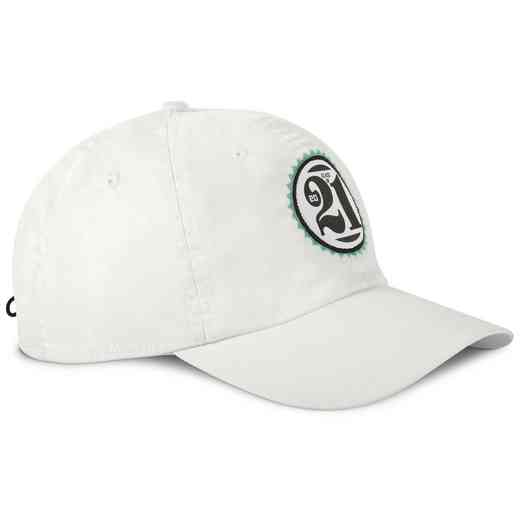 K021508: Ahead Class of Adjustable Hat (White)