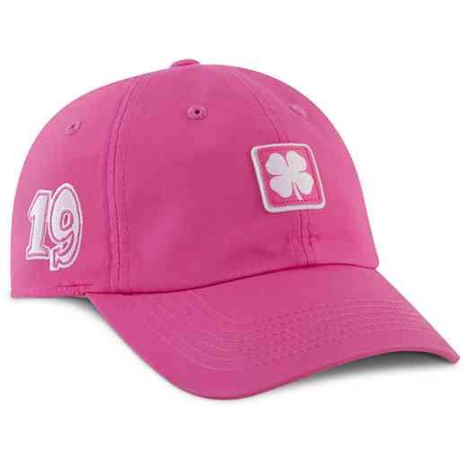 wholesale dealer 8c0ae 88982 Hat Black Clover  Pink White Lucky For U  4 Adjustable Hat