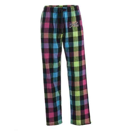 Women's Senior 2019 Neon Classic Flannel Pajama Pants