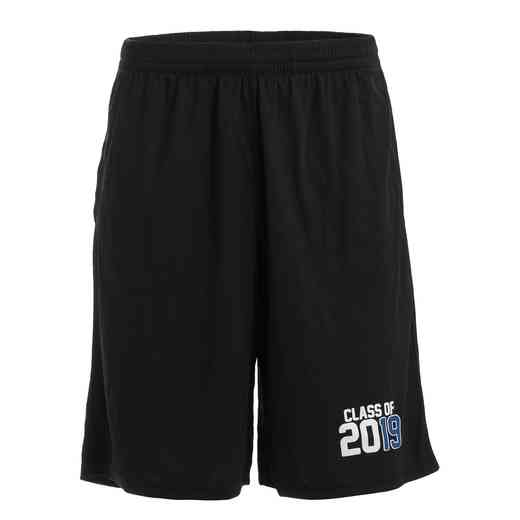 Men's Class of 2019 Full Court Mesh Athletic Shorts