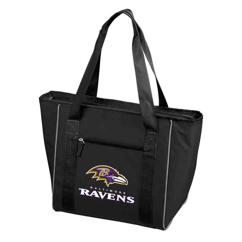 603-84: Baltimore Ravens 30 Can Cooler Tote