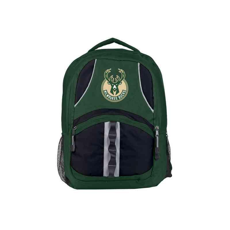 C11NBAC02362015RTL: NW NBA Captain Backpack, Bucks