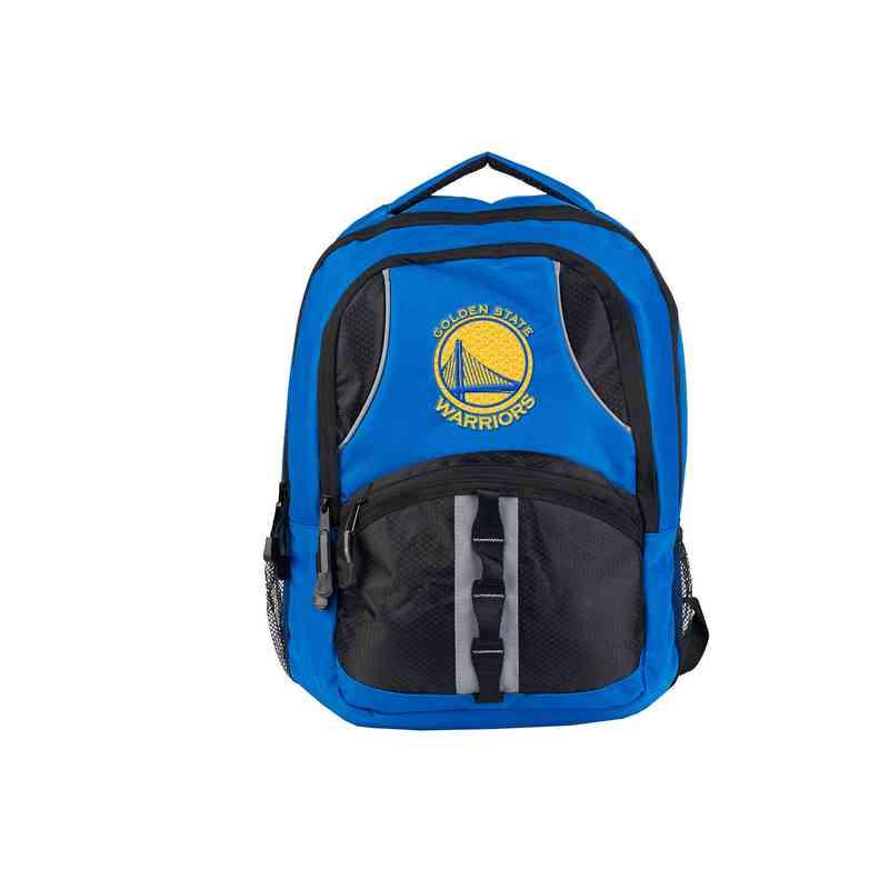 C11NBAC02431009RTL: NW NBA Captain Backpack, Warriors