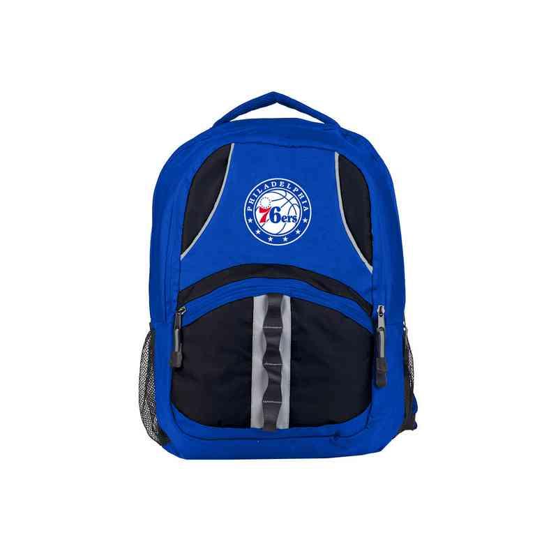 C11NBAC02431020RTL: NW NBA Captain Backpack, 76ers