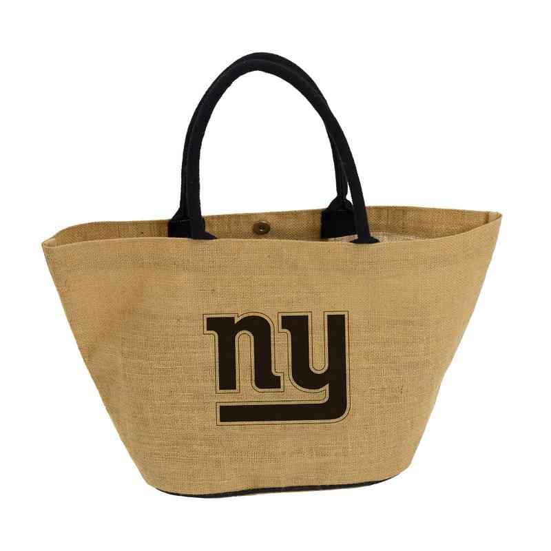 621-66A: LB New York Giants Avalon Jute Tote