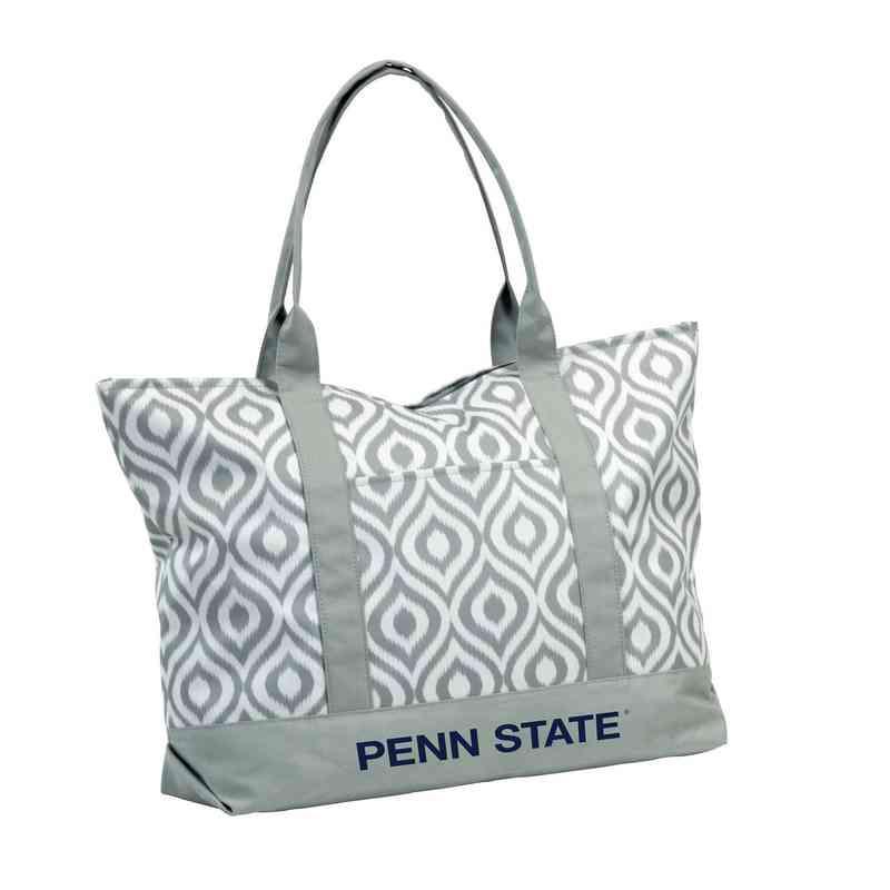 196-66K: LB Penn State Ikat Tote