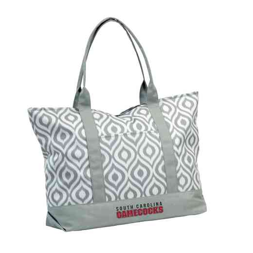 208-66K: LB South Carolina Ikat Tote