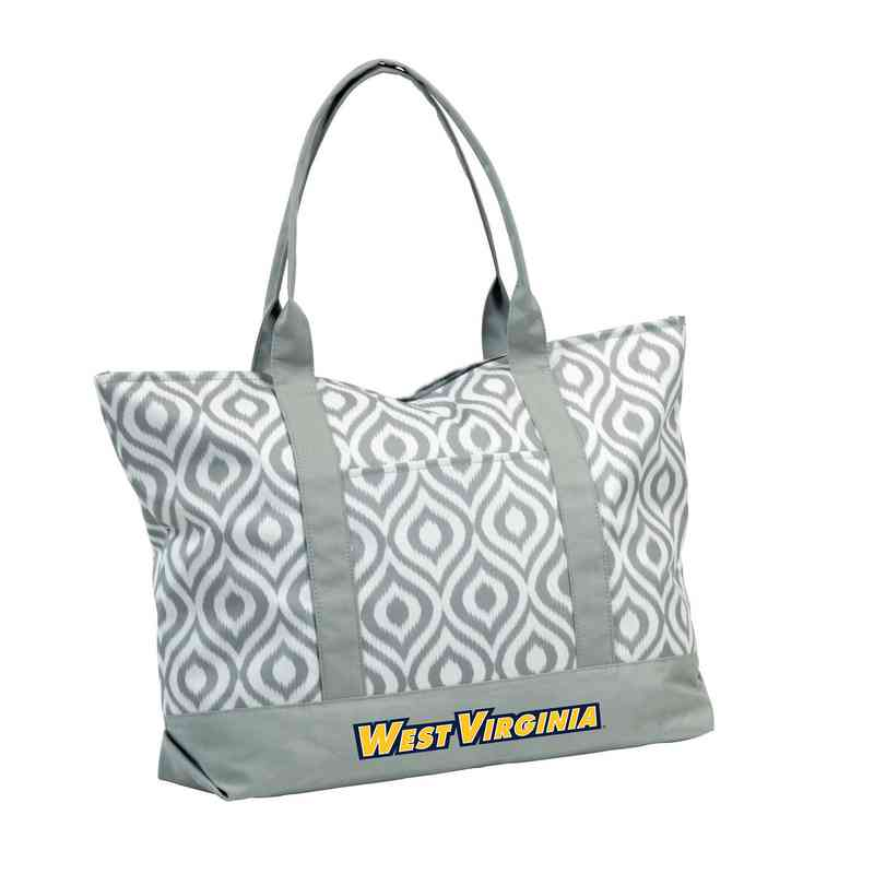 239-66K: LB West Virginia Ikat Tote