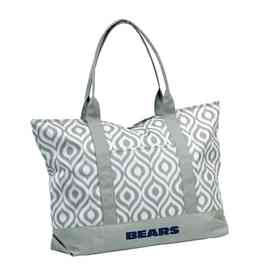 606-66K: LB Chicago Bears Ikat Tote