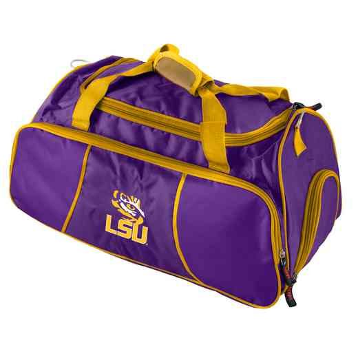 162-72C: LB LSU Athletic Duffel