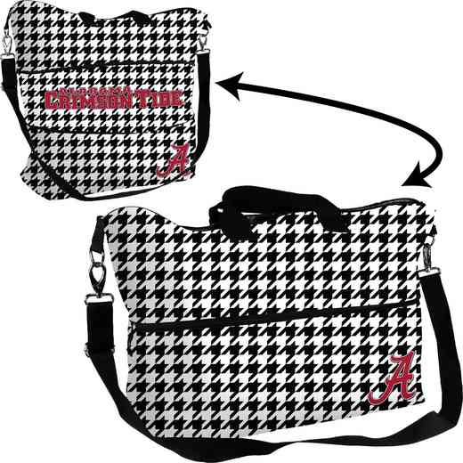 C1331-665: LB Alabama Houndstooth Expandable Tote