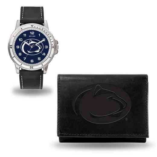 WTWAWA210201: Penn State Nittany Lions Black Watch and Wallet Set