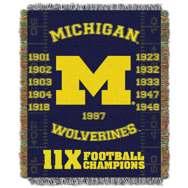 1COL051069021RET:  48x60 Tapestry Commemorative MICH