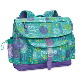 311001: Hope Peace Love Backpack LG