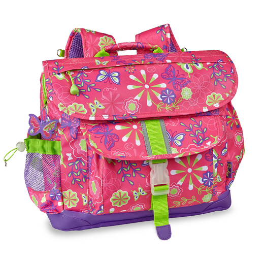 308002: Butterfly Garden Backpack MED