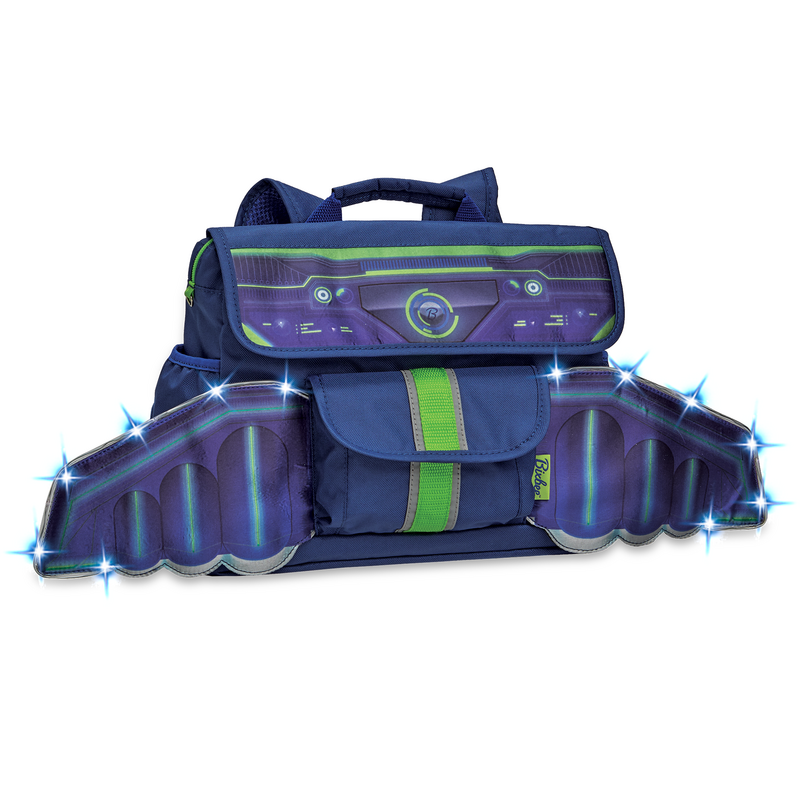 302006: LED Space Racer Backpack S