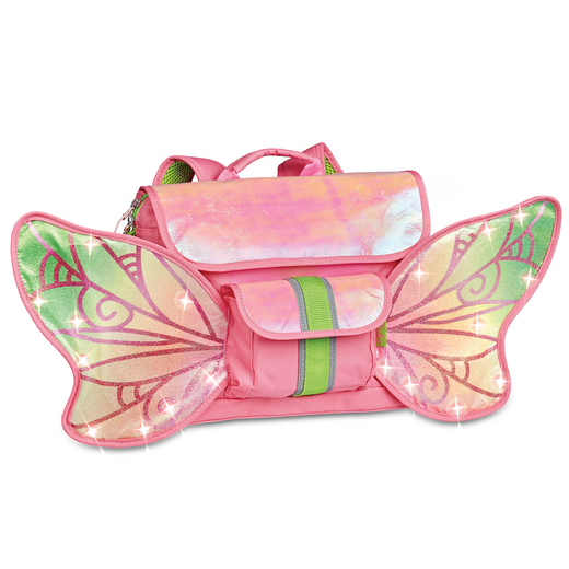 302008: Led Forest Fairy Flyer Backpack S