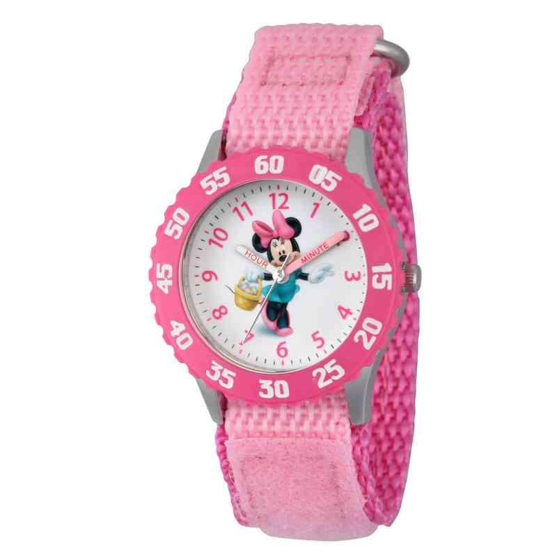 WDS000094: STNLSTL Disney Girls Skipping Minnie Pnk Watch Ny Stap