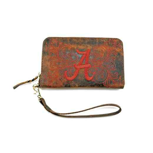 AL-WR012-1: U OF ALABAMA GAMEDAY BOOTS WRISTLET