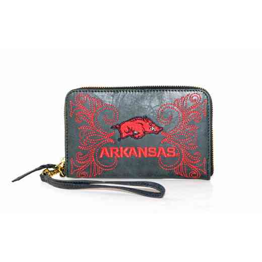 ARK-WR065-1: U OF ARKANSAS GAMEDAY BOOTS WRISTLET