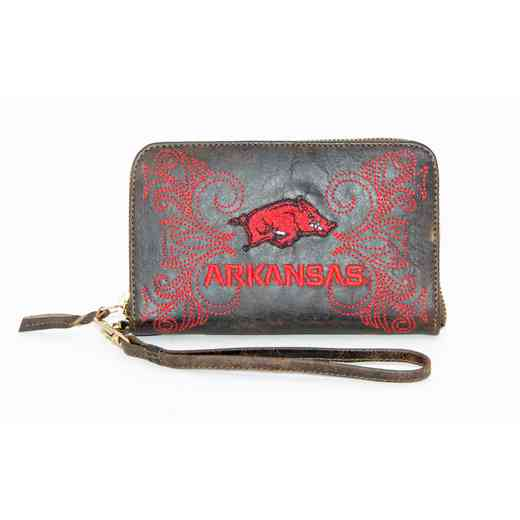 ARK-WR065-2: U OF ARKANSAS GAMEDAY BOOTS WRISTLET