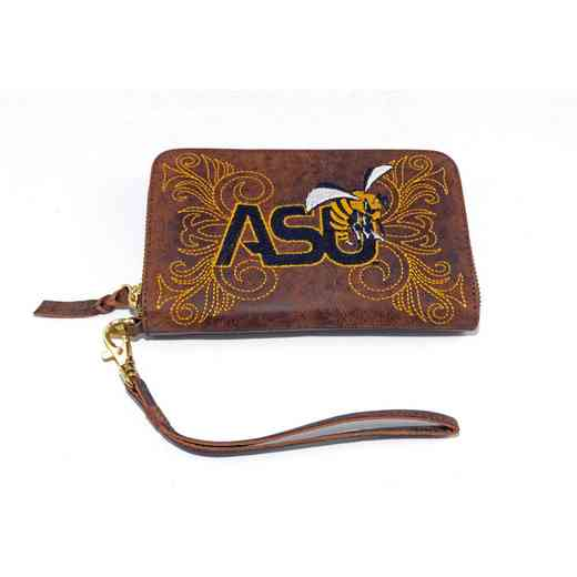 ASU-WR230-1: ALABAMA STATE GAMEDAY BOOTS WRISTLET