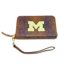 MIC-WR068-1: MICHIGAN GAMEDAY BOOTS WRISTLET