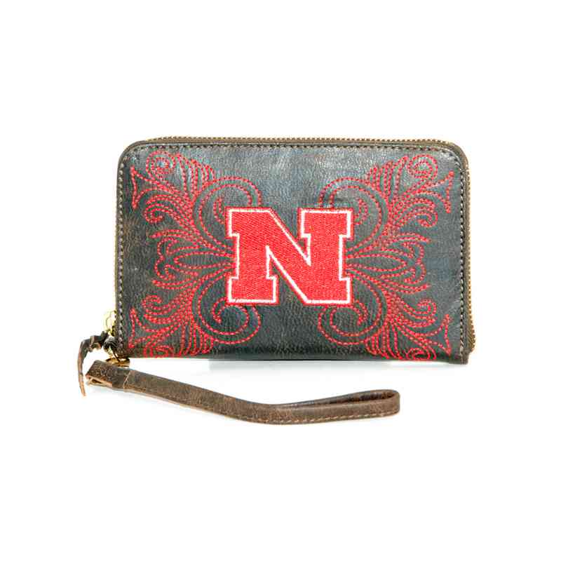 NB-WR019-2: U OF NEBRASKA GAMEDAY BOOTS WRISTLET