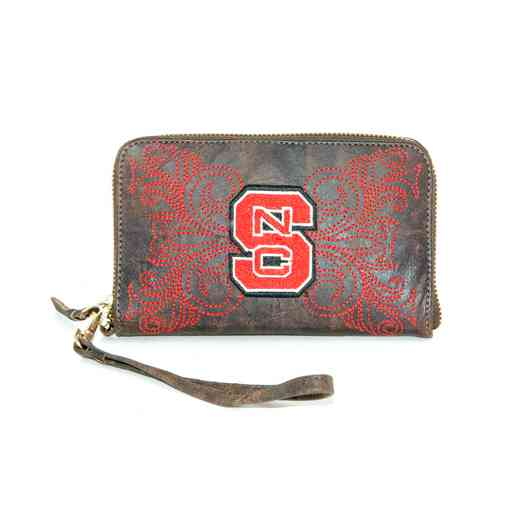 NCS-WR052-1: N CAROLINA STATE GAMEDAY BOOTS WRISTLET