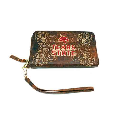 SWT-WR009-1: TEXAS STATE GAMEDAY BOOTS WRISTLET