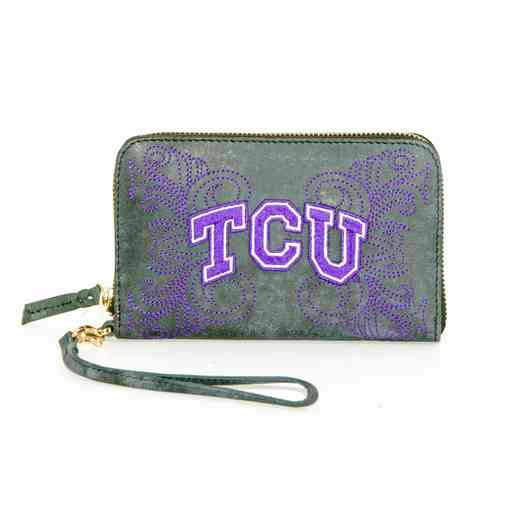 TCU-WR062-1: TEXAS CHRISTIAN GAMEDAY BOOTS WRISTLET