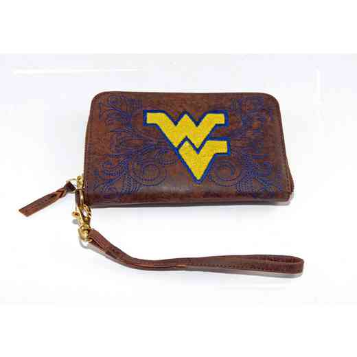 WV-WR023-1: WEST VIRGINIA GAMEDAY BOOTS WRISTLET