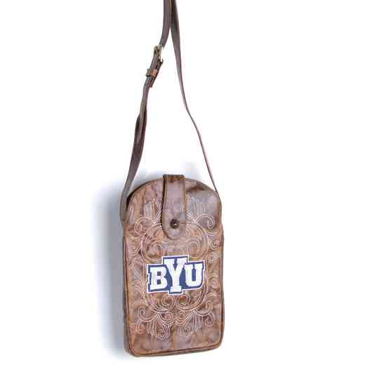 BYU-P029-1: BRIGHAM YOUNG Gameday Boots Purse