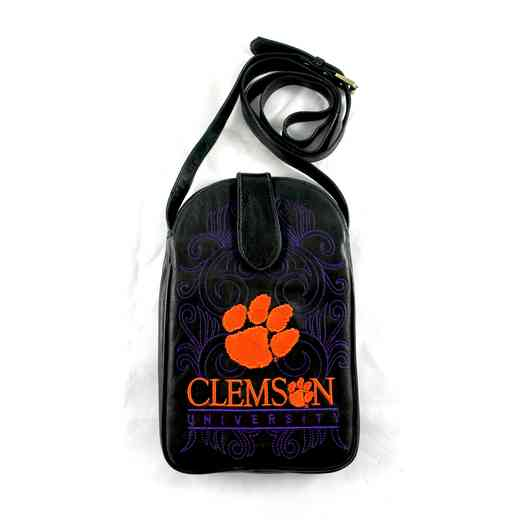CL-P035-2: CLEMSON Gameday Boots Purse