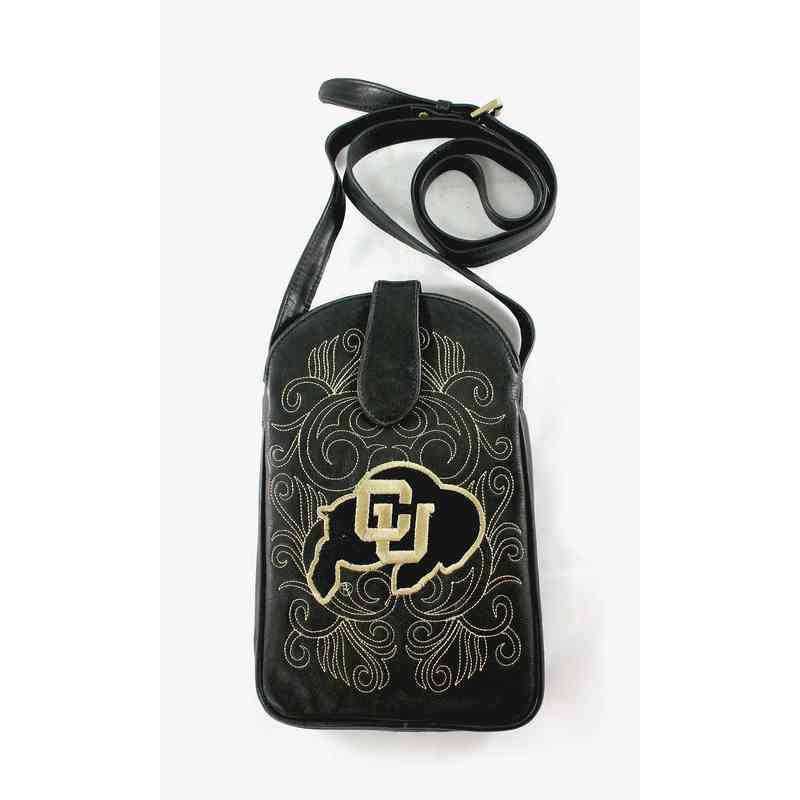 COL-P015-1: U OF COLORADO Gameday Boots Purse