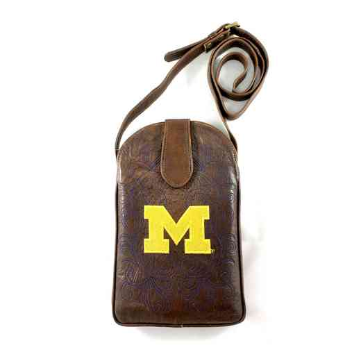 MIC-P068-1: MICHIGAN Gameday Boots Purse
