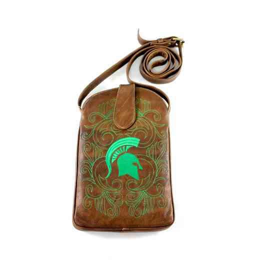 MST-P069-1: MICHIGAN STATE Gameday Boots Purse