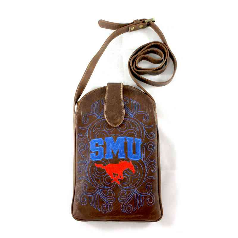 SMU-P006-1: SOUTHERN METHODST Gameday Boots Purse