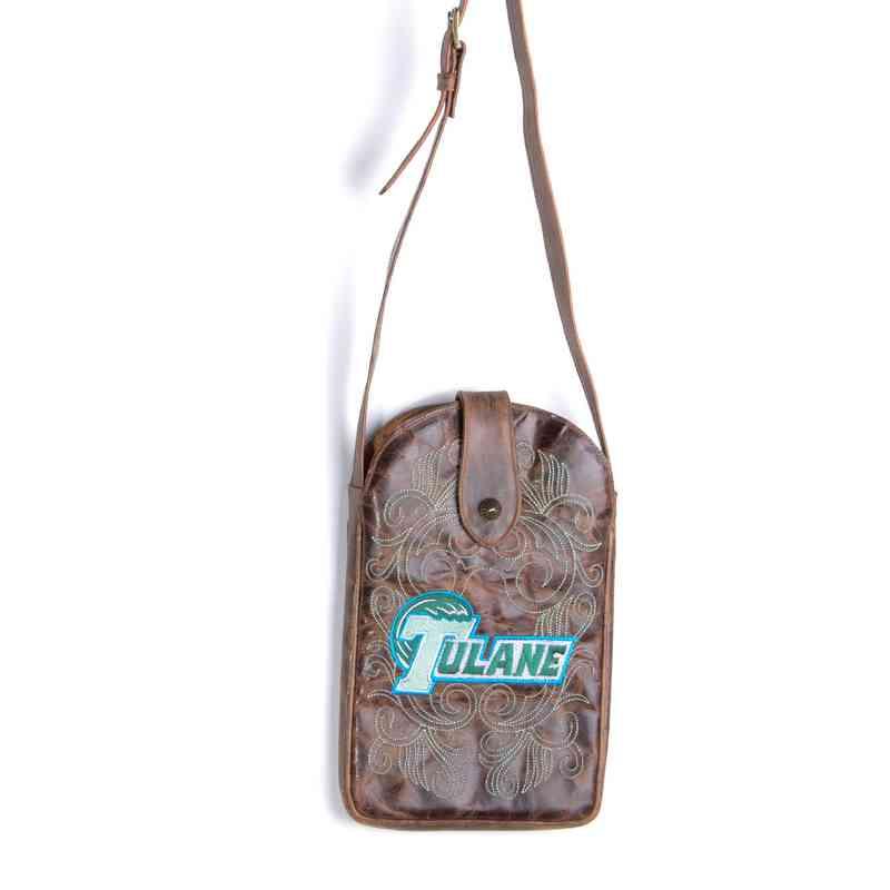 TUL-P011-1: TULANE Gameday Boots Purse