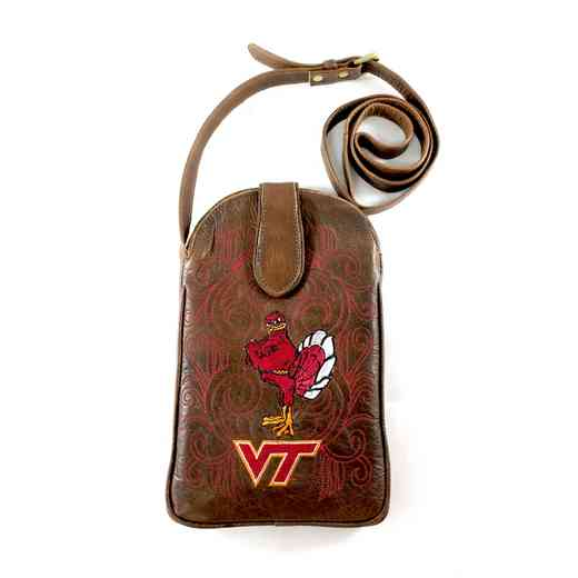 VT-P079-1: VIRGINIA TECH Gameday Boots Purse